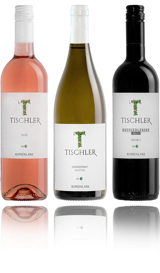Weingut Tischler Flaschen 3er Set